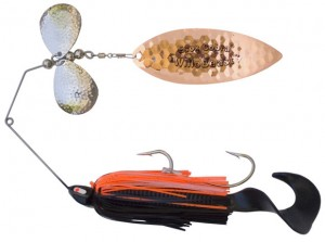 Copper Colored WilloBeast Musky Spinnerbait