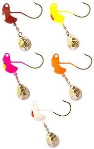 Odd'ball FinSpin Jig, New, high performance spinner jig