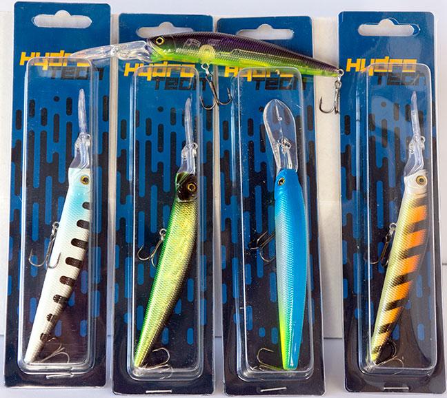 GOINS OUTDOORS Realistic Bass Fishing Lure 4 Piece Kit Wood Box Perfect Fisherman Gift Set
