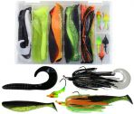 Muskie Pike Cobra Tail Jig Kit
