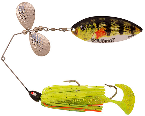 Bait rigs company esox cobra willobeast preyfish for Yellow perch fishing rigs